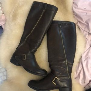 Gently worn riding boots